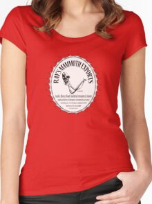 rays mammoth exports Women's Fitted Scoop T-Shirt