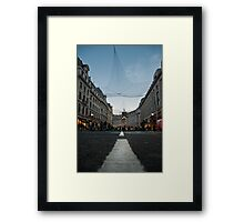 Oxford St. London Framed Print
