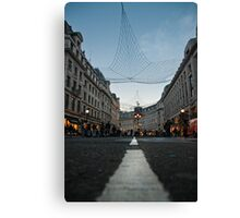 Oxford St. London Canvas Print