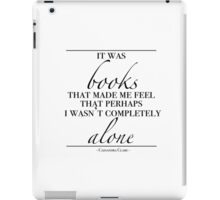 "Will Herondale - ""Books"" iPad Case/Skin"