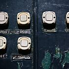 Doorbells, Lisbon, Portugal by Andrew Jones