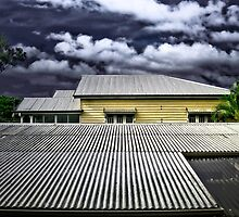 Brisbane Floods 2011 - Summer Storm - My Worst Fears by Neil Ross