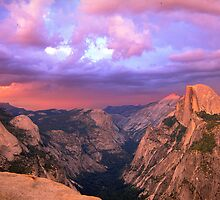 Cloud Play Over Yosemite Valley by Dave Anderson