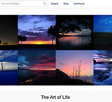 Dark Landscapes - 8 January 2011 by The RedBubble Homepage