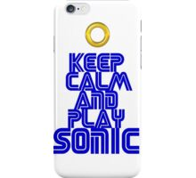 Sega Sonic Tshirt  iPhone Case/Skin