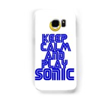 Sega Sonic Tshirt  Samsung Galaxy Case/Skin