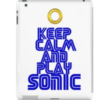 Sega Sonic Tshirt  iPad Case/Skin