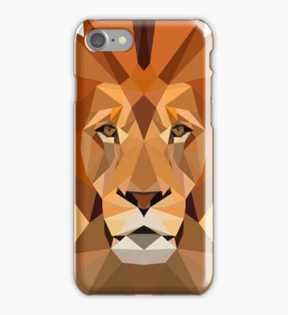 Digital lion king iPhone Case/Skin