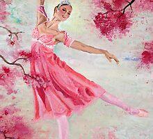 Spring Blossoms - portrait by Michelle Larrea