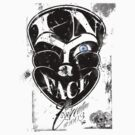 In Ya Face Creations (black on white) by BDawg