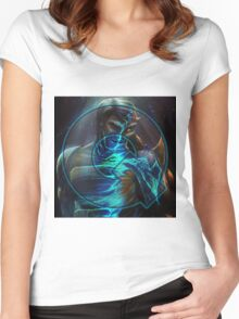 Queer Sci Fi Logo - Ahsanuddin Mix Women's Fitted Scoop T-Shirt