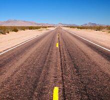 Desert Driving Arizona USA by Andrew Bodycoat