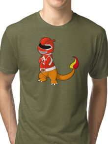 Red Ever Evolvin' PokeRanger Tri-blend T-Shirt