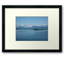 lake argentina Framed Print