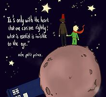 Doctor who meet a little prince by keandre