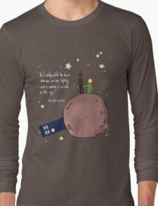 Doctor who meet a little prince Long Sleeve T-Shirt