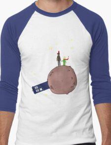Doctor who meet a little prince Men's Baseball ¾ T-Shirt