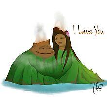 I Lava You by Andrea Echeverria