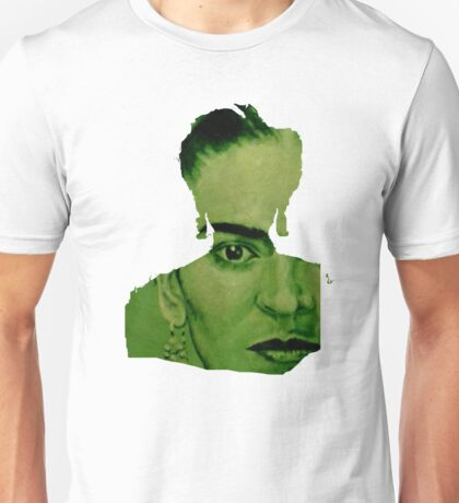 Frida Kahlo - red bow Unisex T-Shirt