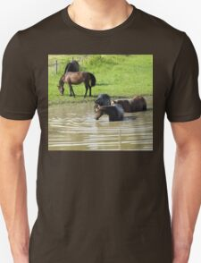 """""""The Horses 5... Camera Shy""""... prints and products T-Shirt"""