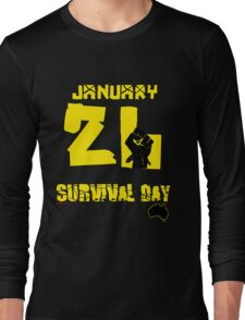 January 26 Survival Day Long Sleeve T-Shirt