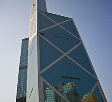Bank of China Tower - Hong Kong by Richie Wessen