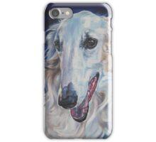 Borzoi Fine Art Painting iPhone Case/Skin