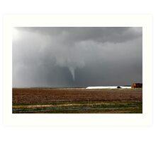 Hartley tornado, Texas Panhandle Art Print