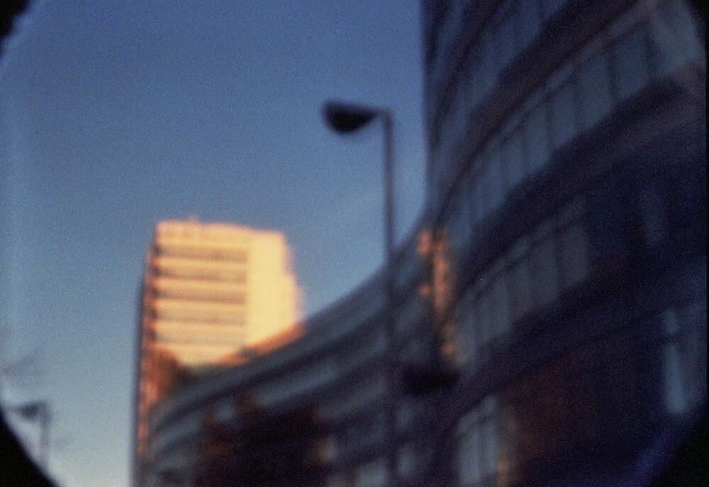 Pinhole Experiments: Architecture by rosiephoto