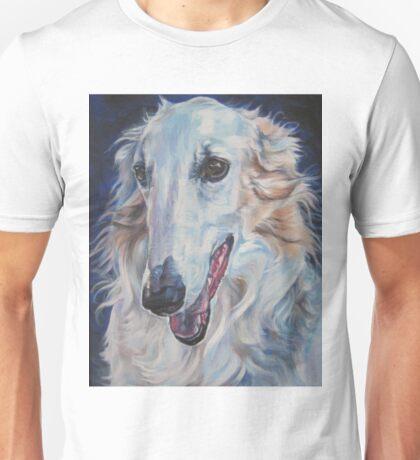 Borzoi Fine Art Painting Unisex T-Shirt