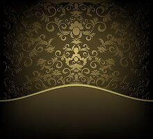 Decorative design background by Olga Altunina