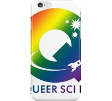 Queer Sci Fi Logo - Bellamy Mix Gradient Edition iPhone Case/Skin