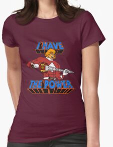 He-Man / Power Rangers 'I Have The Power' Womens Fitted T-Shirt