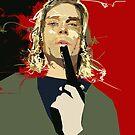Kurt Cobain by Alberto Marinelli