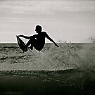 Surfing the Silhouette  by Helen Vercoe