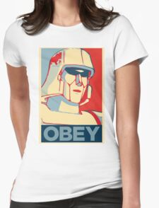 OBEY ! Womens Fitted T-Shirt