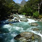 """The Routeburn"" - Fiordland and Mount Aspiring National Parks by Henry Inglis"