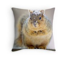 It's Cold Out Here Throw Pillow