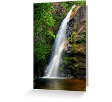 Refresh - Brazil Greeting Card