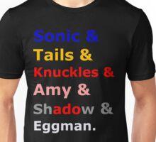 Sonic &Tails & .. Unisex T-Shirt