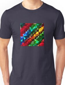 Abstract  multi colored Unisex T-Shirt