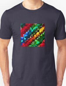 Abstract  multi colored T-Shirt