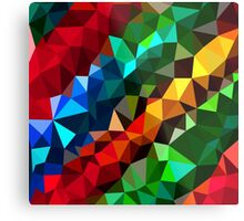 Abstract  multi colored Metal Print