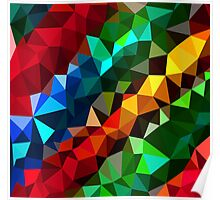 Abstract  multi colored Poster