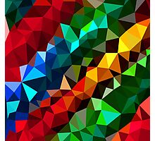 Abstract  multi colored Photographic Print