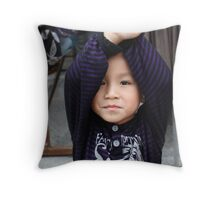 Children of China - 8 Throw Pillow