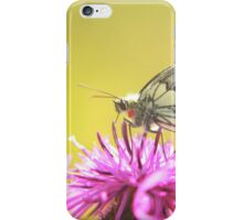 The stunning marbled white butterfly iPhone Case/Skin