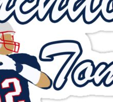 Touchdown Tommy Sticker