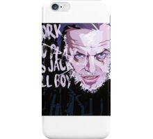 Jack Nicholson Shining iPhone Case/Skin
