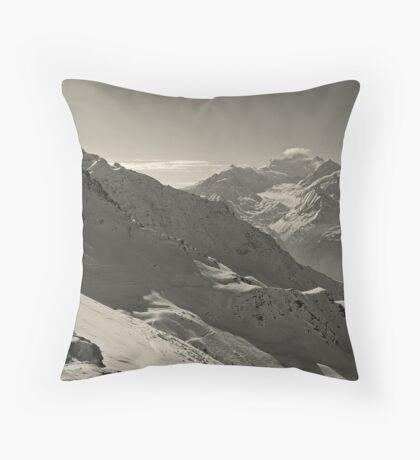 Around Every Corner, a Wondrous View Awaits Throw Pillow